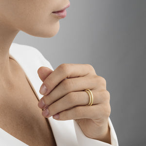Georg Jensen - Double Pave Halo Ring