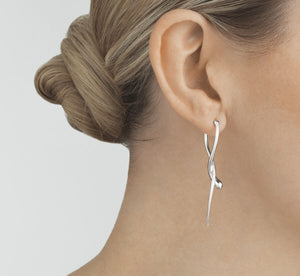 George Jensen - Mercy Twist Drop Earrings