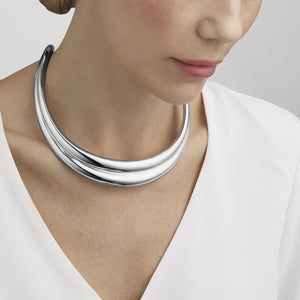 Georg Jensen - Curve Sculptural Neck Ring