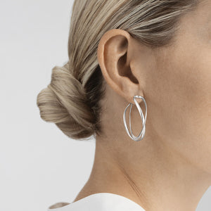 Georg Jensen - Large Infinity Earhoop