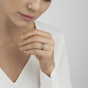 Georg Jensen - White Gold Magic Ring