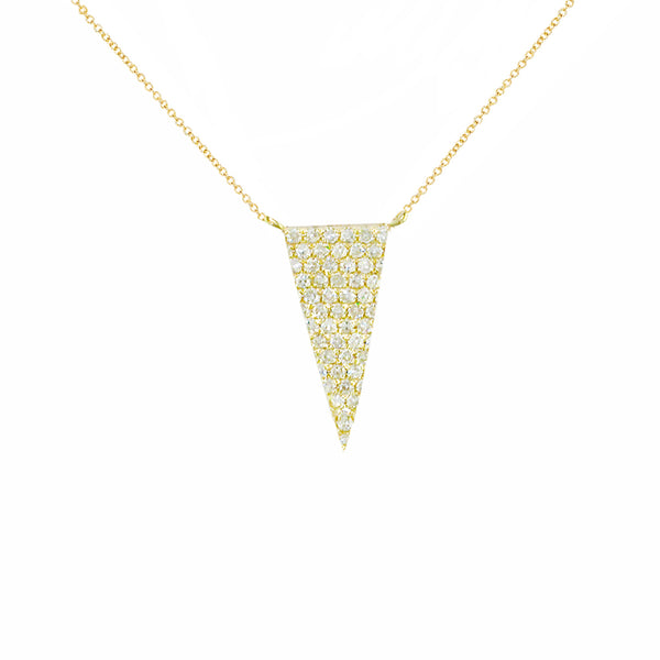 London Road - Diamond Triangle Pendant