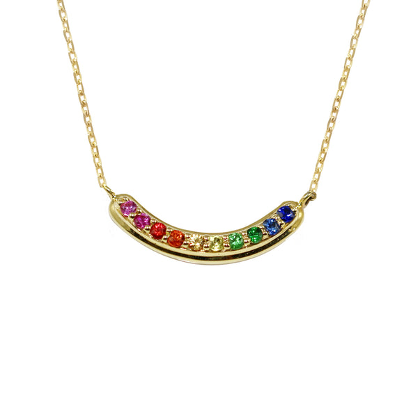 London Road - Rainbow Necklace