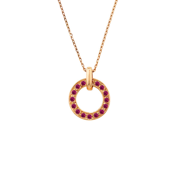 London Road - Meridian Ruby Pendant