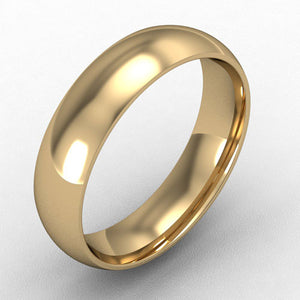 18ct Yellow Gold Court - 5mm