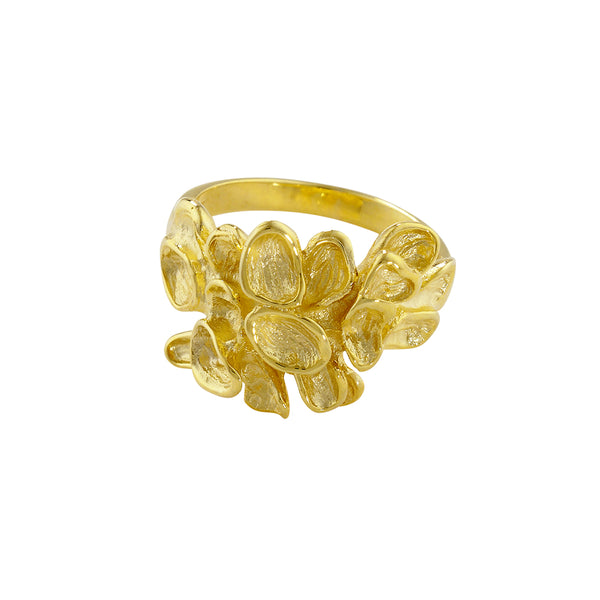 London Road - Falling Leaf Cluster Ring