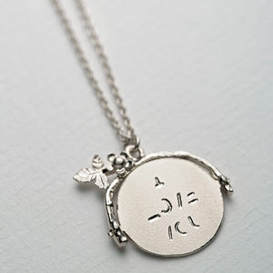 Alex Monroe - I Love You Spinner Necklace