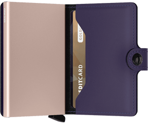 Secrid - Matte Purple-Rose Miniwallet