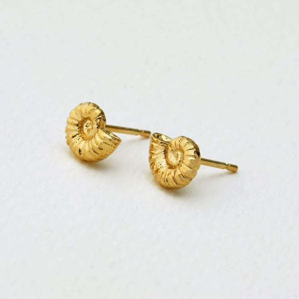 Alex Monroe - Ammonite Studs