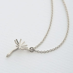 Alex Monroe - Single Dandelion Fluff Necklace