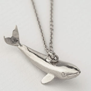 Alex Monroe - Baby Blue Whale Necklace