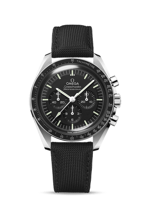 Omega - **New** Speedmaster Moonwatch Professional on Fabric