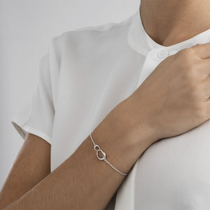 Georg Jensen - Silver Offspring Bracelet