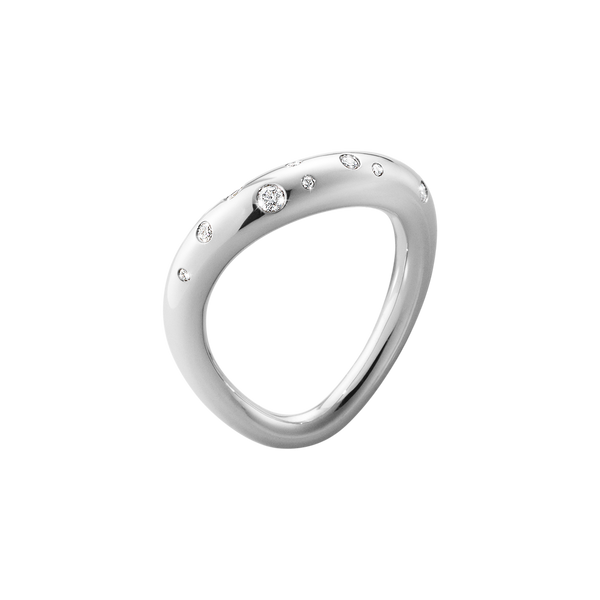 Georg Jensen - Offspring Ring with Diamonds