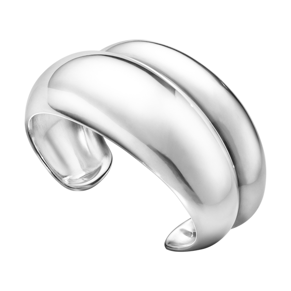 Georg Jensen - Curve Sculptural Medium Bangle