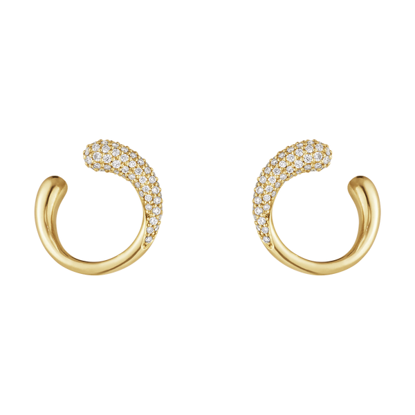 Georg Jensen - Mercy Yellow Gold Studs