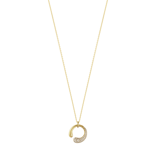Georg Jensen - Mercy Yellow Gold Pendant