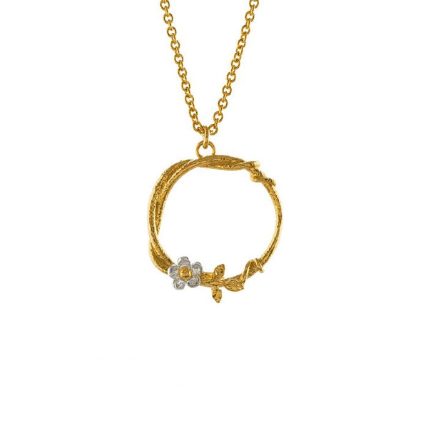 Alex Monroe - Baby Posy Loop Necklace