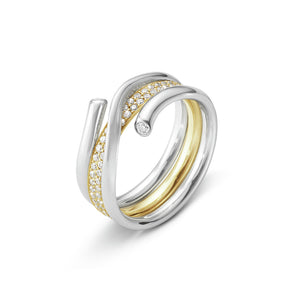 Georg Jensen Magic Ring - Outer Section White Gold