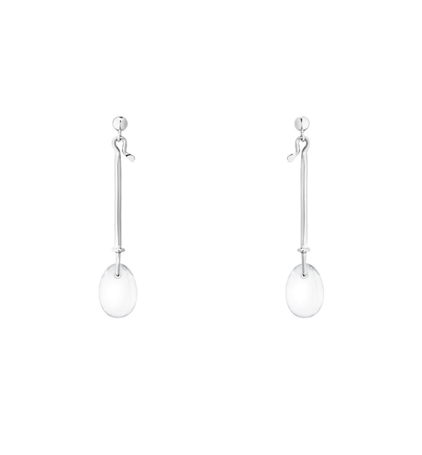 Georg Jensen Dew Drop Earrings - Rock Crystal