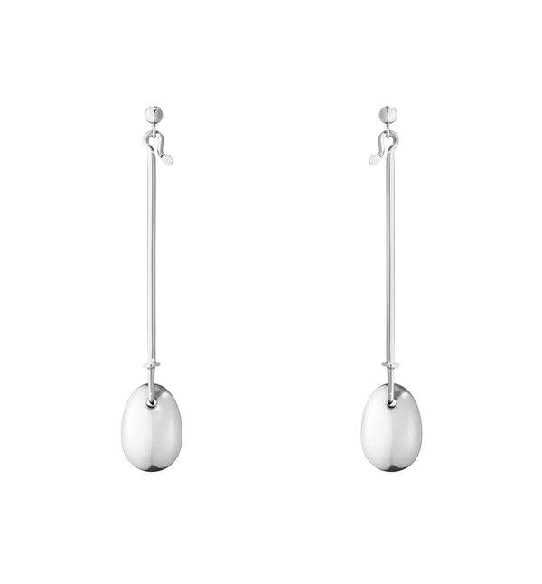 Georg Jensen Dew Drop Earrings - Silver