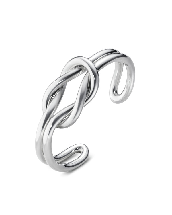 Georg Jensen Love Knot Bangle - Double