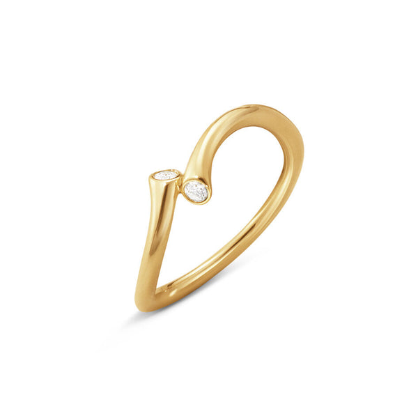 Georg Jensen - Yellow Gold Magic Ring
