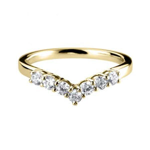 Deposit - 18ct Gold Diamond Set Curved band
