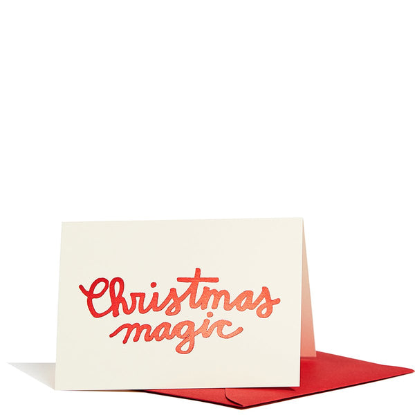 Christmas Magic Enclosure Cards