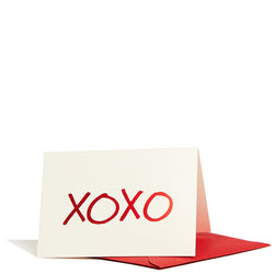 XOXO Enclosure Card