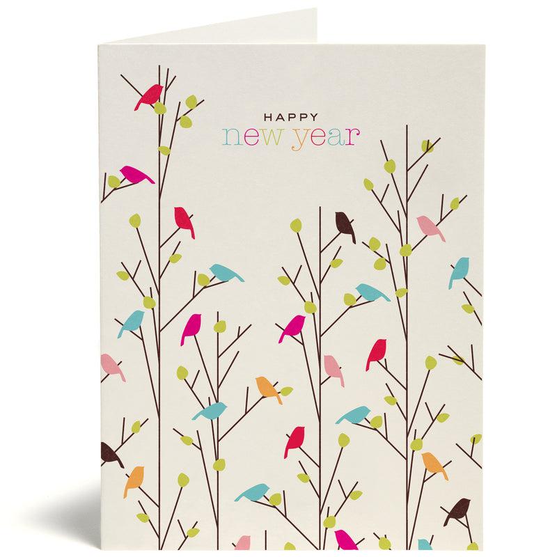 New Year Tweets Card