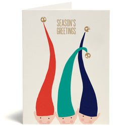 Elf Hats Card