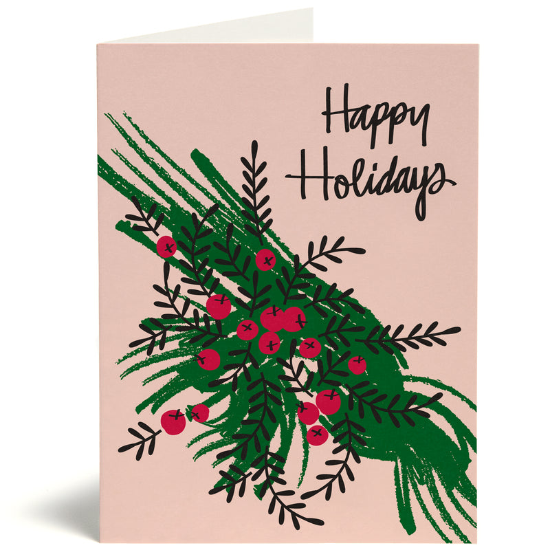 Holiday Flora Card