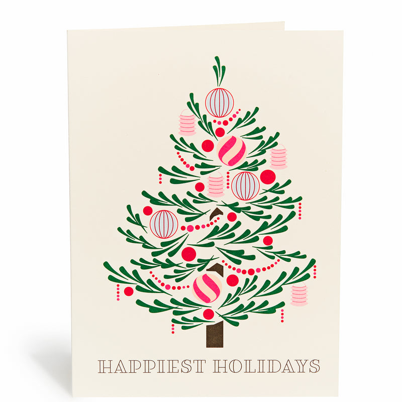 Ornate Tree Card