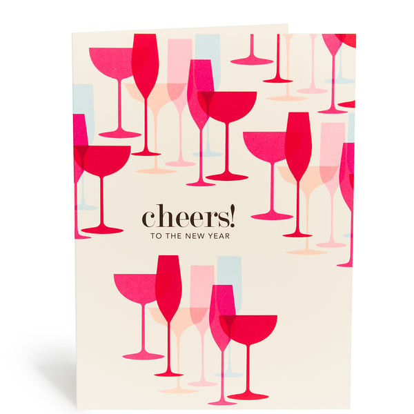 Champage Cheers Card