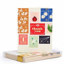 Stamps Gold Foil Noteset