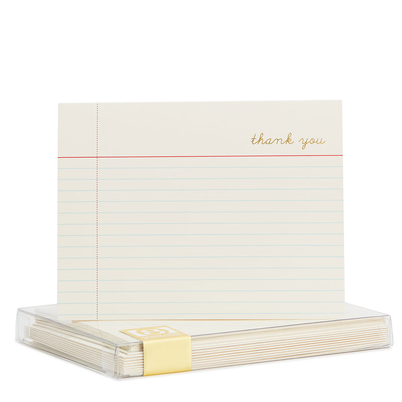 Notecard Gold Foil Noteset