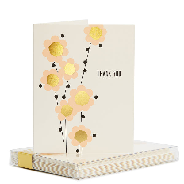 Cara Gold Foil Noteset