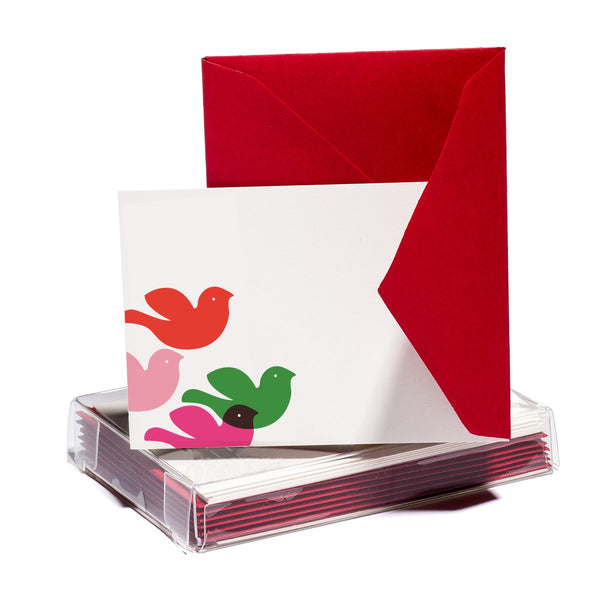 Peace Doves Tiny Card