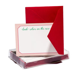 On the Nice List Tiny Card