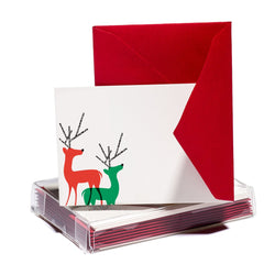 Bright Reindeer Tiny Card