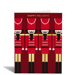 Nutcrackers Foil Card