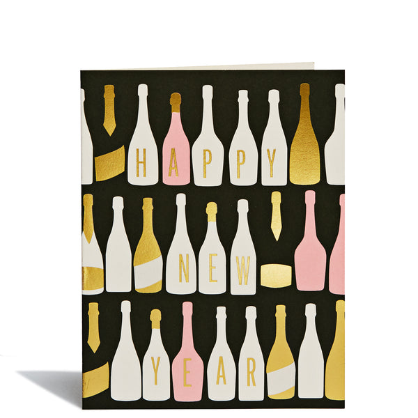 Champagne Foil Card