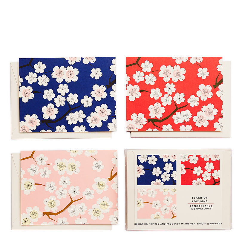 Cherry Blossom Assorted Notecard