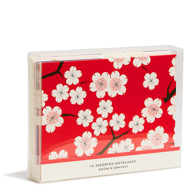 Cherry Blossom Blank Notecards