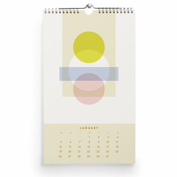 2020 Color + Form Calendar