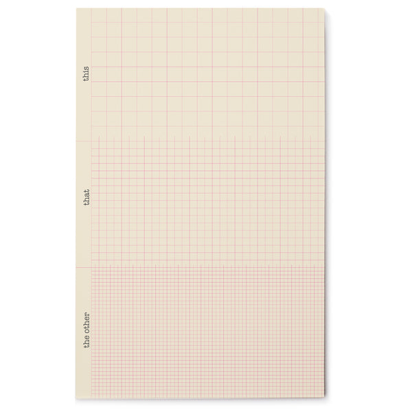 This That & The Other Grid Pad
