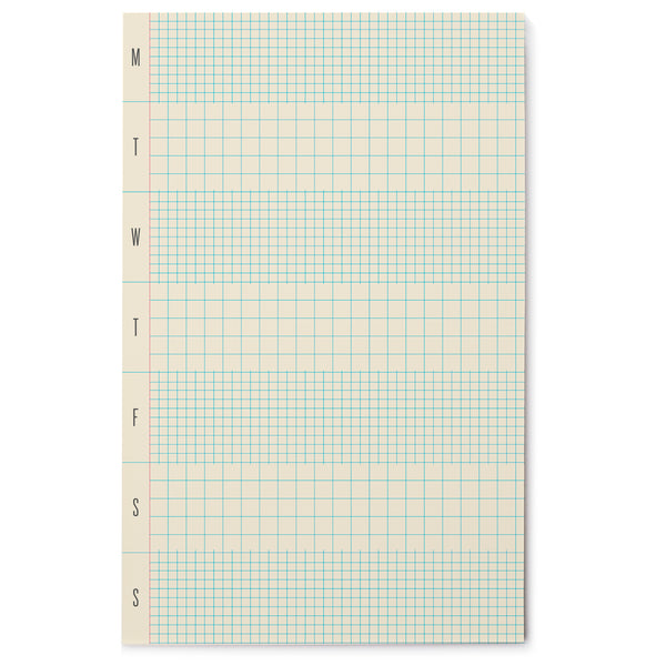 Weekly Grid Pad