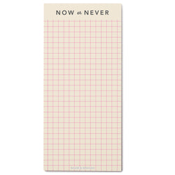 Now or Never listPAD