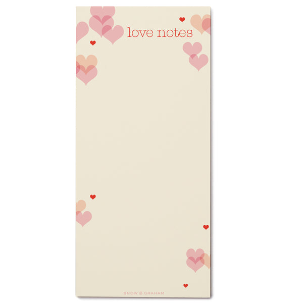 Love Notes listPAD